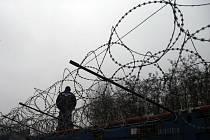 Plot na hranicích, migrace - ilustrační foto.