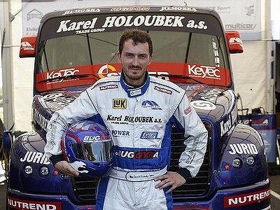 Vedoucí muž průběžného pořadí ME tahačů David Vršecký z roudnického týmu Buggyra.