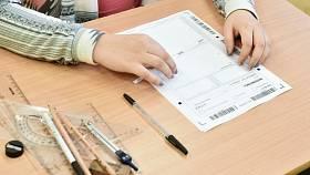 Žák ve škole. Ilustrační snímek