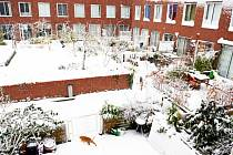 Meteorologové předpokládají, že špatné počasí bude panovat až do středy. Dopravu na silnicích může navíc zkomplikovat tání sněhu a jeho opětovné zmrznutí. Ilustrační foto.