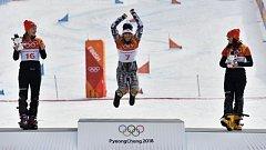 Ester Ledecká, dvojnásobná olympijská vítězka