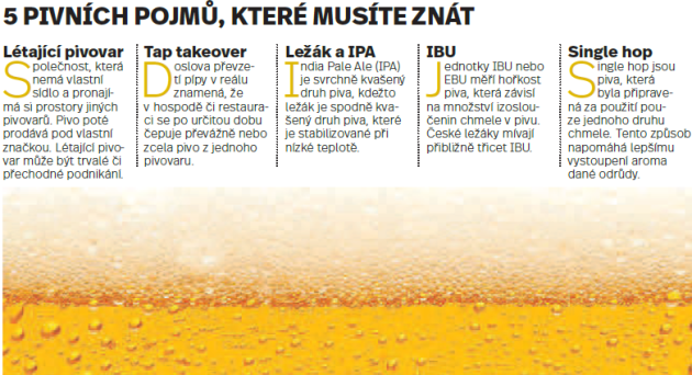 Pivo. Infografika