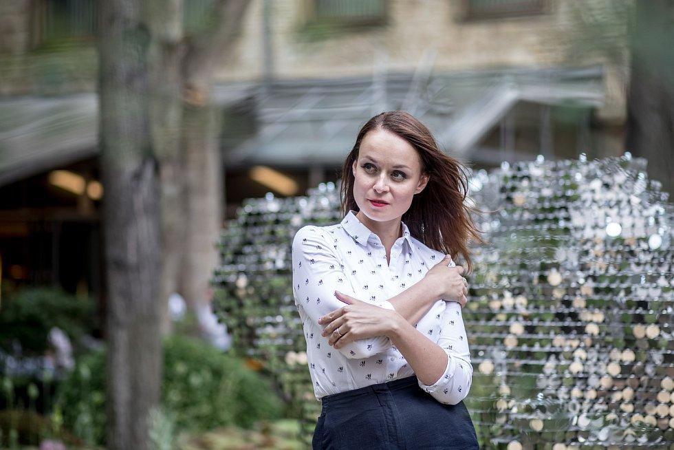 Herečka Andrea Hoffmannová.