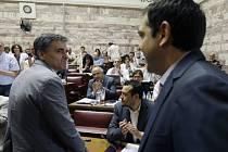 Německo se podle vysoce postaveného poslance vládní Syrizy Dimitrise Papadimulise snaží Řecko ponížit nebo svrhnout jeho vládu. Ilustrační foto.