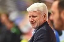 Trenér Marian Jelínek.