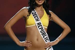 Česká účastnice Eliška Bučková se dostala v soutěži Miss Universe mezi patnáct nejkrásnějších