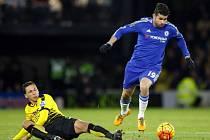 Diego Costa v utkání proti Watfordu