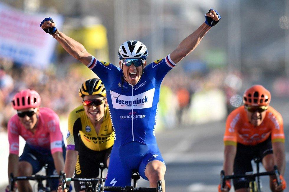 Cyklista Zdeněk Štybar vyhrál závod WorldTour Grand Prix E3 v Harelbeke