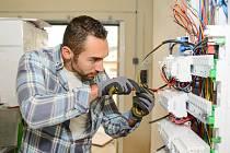 Živnostník, elektrikář - Ilustrační foto