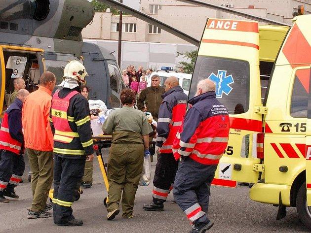 Záchranný vrtulník - ilustrační foto
