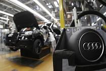 Výroba automobilů Audi