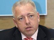 Ministr vnitra Milan Chovanec (ČSSD).