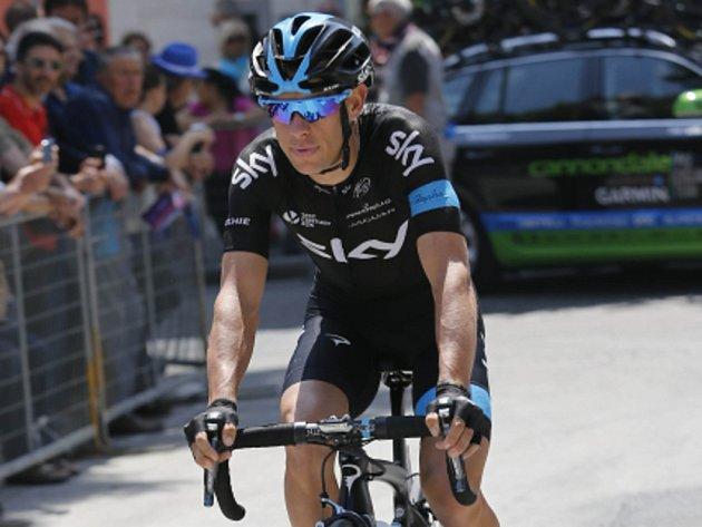 Richie Porte na Giro d'Italia.