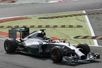 Lewis Hamilton ve Velké ceně Itálie.