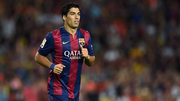 Posila Barcelony Luis Suárez.