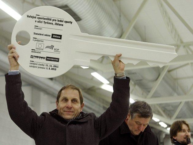Vítěz Zlaté hokejky Bedřich Ščerban.