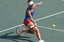 Barbora Strýcová na olympijských hrách v Riu.