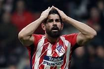 Diego Costa z Atlética Madrid.