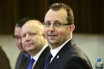 Předseda FAČR Martin Malík (vpravo).