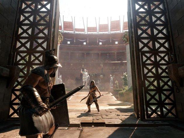 Počítačová hra Ryse: Son of Rome.