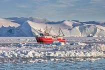 Ledu je v Grónsku čím dál méně.