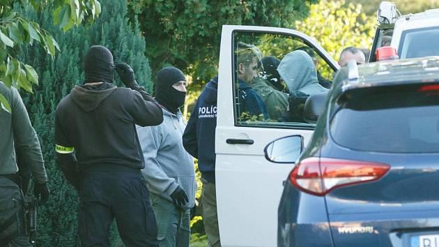Zásah slovenské policie. Ilustrační snímek