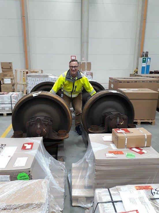 Jan Sláma a logistická firma Nyylo
