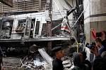 Tragédie na železničním nádraží v Káhiře
