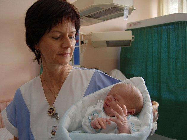 Nalezený Martin v náruči sestřičky gynekologicko-porodnického oddělení sokolovské nemocnice