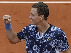 Tomáš Berdych zvládl první kolo na Roland Garros