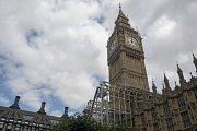 Opravy Big Bena, Londýn