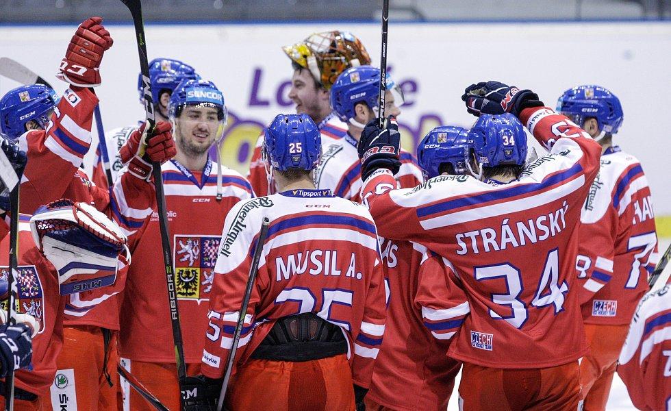 Český hokejový tým na MS v Dánsku