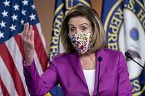 Demokratická šéfka Sněmovny reprezentantů Nancy Pelosiová