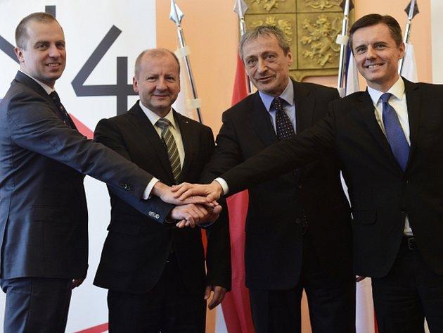 Země visegrádské skupiny se domluvily, že v roce 2019 opět nabídnou Evropské unii společné vojenské pohotovostní síly, takzvanou battlegroup.