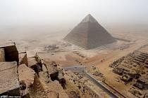 Egyptské pyramidy, ilustrační foto