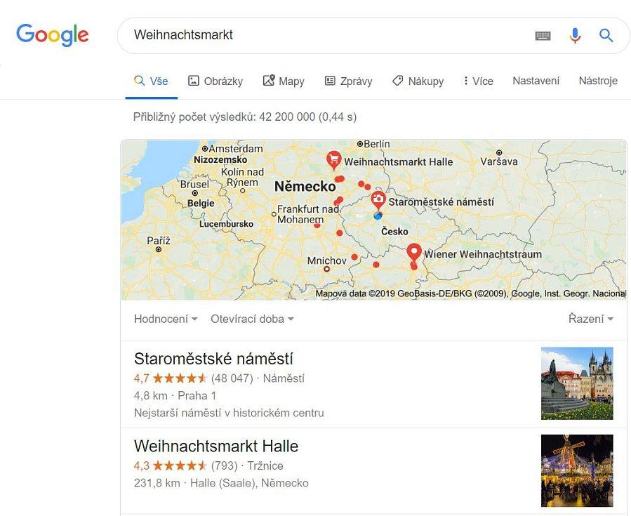 Prostým vyhledáváním v Googlu lze ale zjistit, že to není pravda