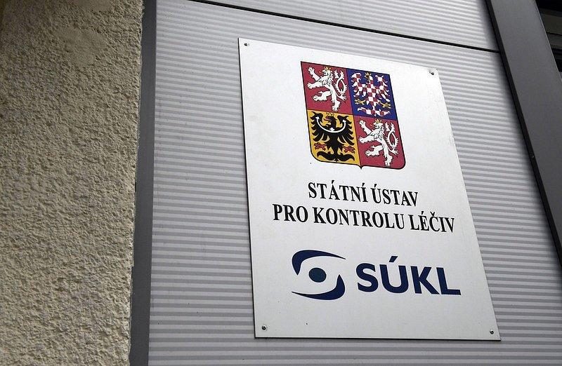 Logo Státního ústavu pro kontrolu léčiv (SÚKL).