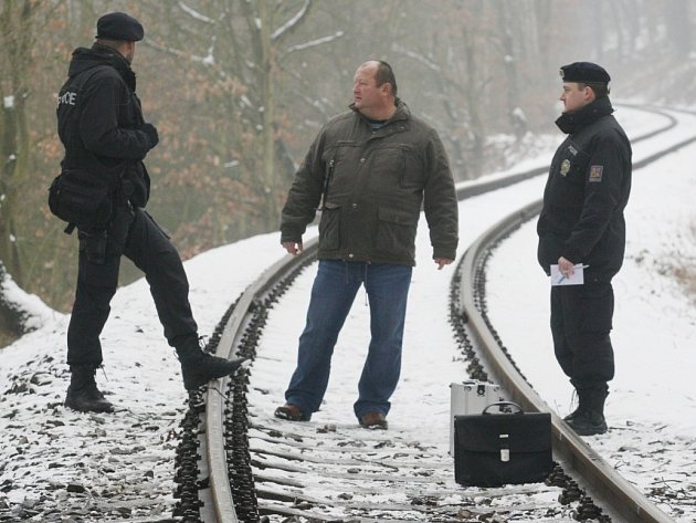 U trati na Litoměřicku byl nalezen mrtvý muž.