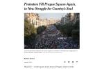 Zpráva amerického deníku The New York Times