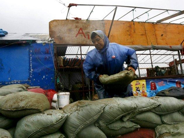 Tajfuny Damrey a Saola doprovázené silnými dešti si na východním pobřeží Číny vyžádaly již 23 lidských obětí.