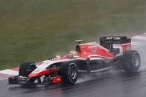 Jules Bianchi ve Velké ceně Japonska.