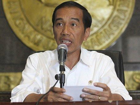 Indonéský prezident Joko Widodo.