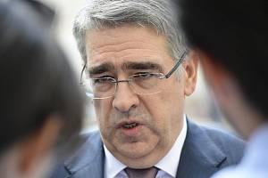 Ruský velvyslanec v ČR Alexandr Zmejevskij