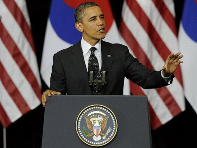 Americký prezident Barack Obama dnes v jihokorejském hlavním městě Soulu zdůraznil, že hrozba jaderných zbraní zůstává pro svět náročnou výzvou a varoval před jaderným terorismem.