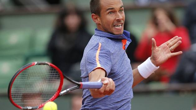 Lukáš Rosol na Roland Garros.