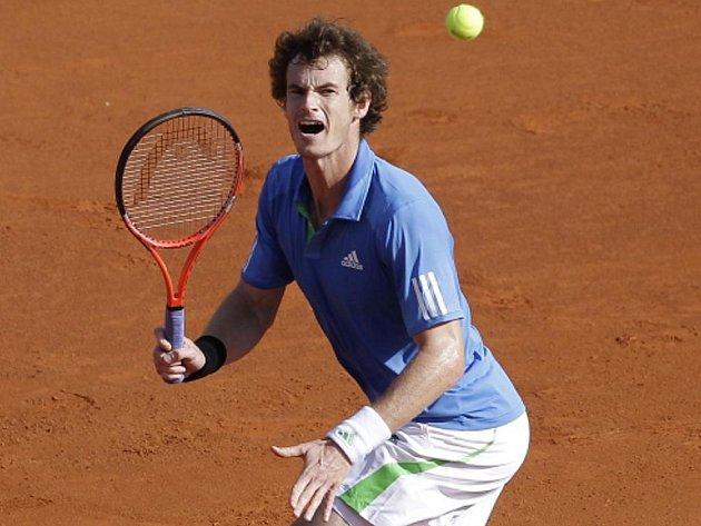 Andy Murray na turnaji v Monte Carlu.