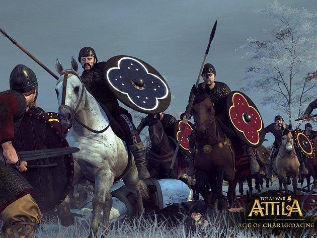 Počítačová hra Total War: Attila: Age of Charlemagne.