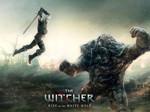 Počítačová hra The Witcher: Rise of the White Wolf.