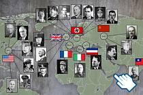 Infogafika o druhé světové válce