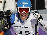 Lindsay Vonnová během tréninku.